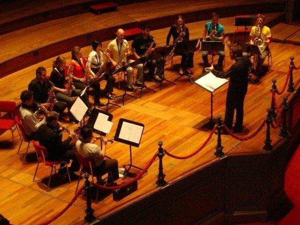 Ensemble del Conservatorio en la Groote Zaal del Concertgebow.jpg