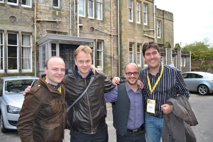 Tras el estreno de L'Arlesienne Fantasy Concert en St. Andrews, con Vincent, Arno y Antonio Canovas.jpg