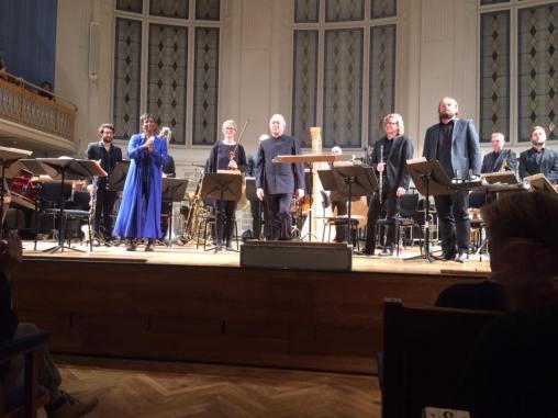 Klangforum Wien en el Wiener Konzerthaus en su concierto del 14 de Diciembre de 2016