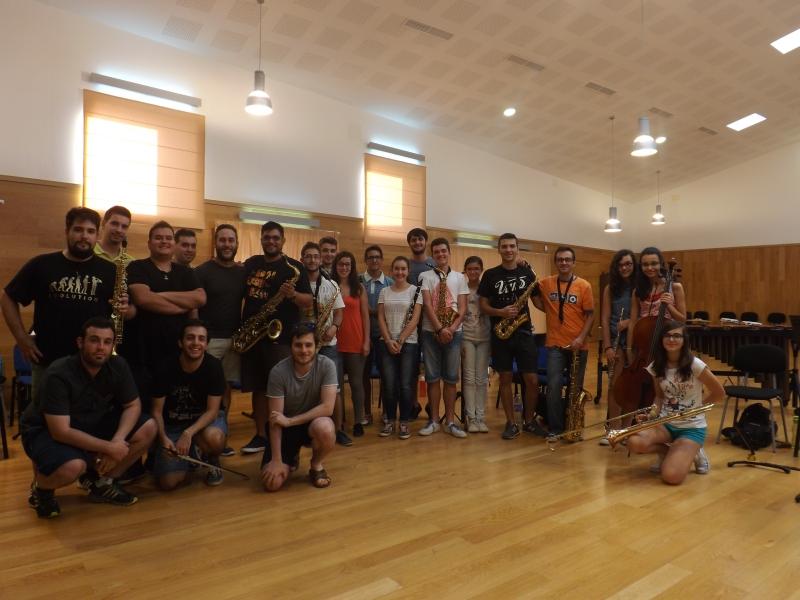 Participantes del I [impro-LaB] en Manzanares (Ciudad Real).JPG