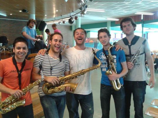 Sección de saxofones de la NJO 2012 con Mete Erker .jpg