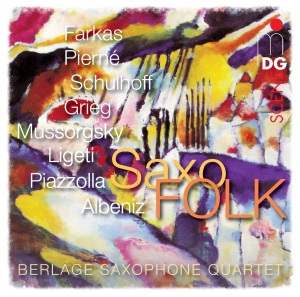 CD-cover-with-frame-SaxoFOLK-Berlage-Saxophone-Quartet