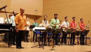 Big band del Conservatorio Manuel de Falla.