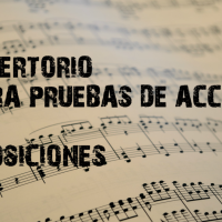 REPERTORIO PARA PRUEBAS DE ACCESO Y OPOSICIONES